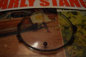 1967 MERCURY COMET CAPRI CALIENTE CYCLONE GT CLOCK DELETE GAUGE LENS