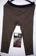 ORTOVOX 185 Short Pants Men Merino skiunterwäsche Brown Chocolate 3/4