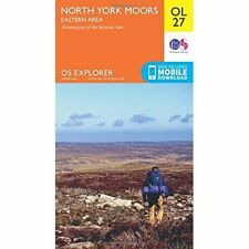 North York Moors - Eastern Area by Ordnance Survey (Sheet map, folded, 2015)
