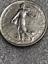 1960 One Franc coin France KM #925