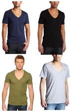 NWT G-Star Raw Men Base V-neck Short Sleeve T- Shirts Double Pack (2 Set)