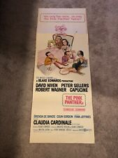 """1964 Original The Pink Pather Movie Film Poster! 14""""x36"""""""