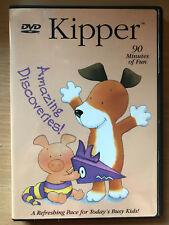 Kipper Amazing DESCUBRIMIENTOS ~ 2004 Preescolar Infantil Show REGIÓN 1 US DVD