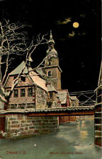 Mondschein Ansichtskarten mit dem Thema Dom & Kirche