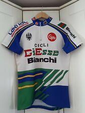 VINTAGE Bianchi Cycle Jersey - SIZE - Medium / Large