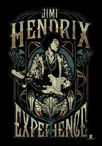 Jimi Hendrix Experience large fabric poster / flag 1100mm x 700mm (hr)
