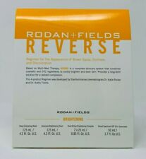 Rodan and + Fields REVERSE Skin BRIGHTENING Regimen for Discoloration New/Sealed