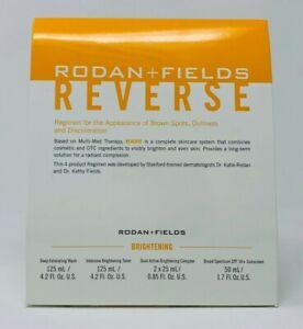 Rodan and + Fields REVERSE Skin BRIGHTENING Regimen for Discoloration New/Sealed
