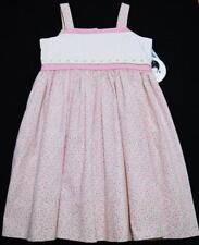 SARAH LOUISE 3T PINK & LAVENDER FLORAL PRINT  DRESS W/PETTICOAT SLIP~NWT'S~$59