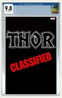 Thor #6 CGC 9.8 Graded PRE-ORDER Classified Variant Cover Marvel Comics 2020