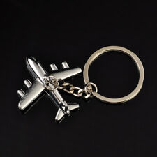 3D Simulation Model airplane plane Keychain Key Chain Ring Keyring Gift js
