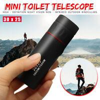 30X25 HD Optical Dual Focus Monocular Day Night Vision Hiking Telescope Camping