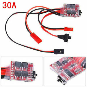 30A Mini Brushed ESC Motor Electronic Speed Controller Fit For RC Boat Truck Car