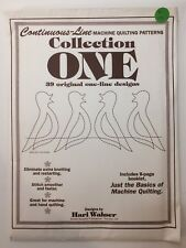Continuous Line Quilting Patterns Collection One Hari Walner 39 Designs