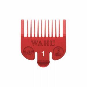 Wahl Colour Clipper Attachment Guard Comb No 1 Red