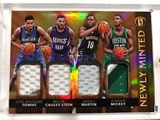 2015-16 Panini Gold Standard Rookie Patch Karl-Anthony Towns Cualy-Stein 06/15