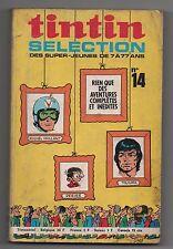 TINTIN Sélection n°14 - 1971 - Bel état, pliures marquées