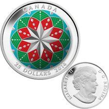 2014 Canada $25 Fine Silver Coin - Christmas Ornament