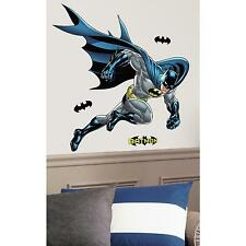 "BATMAN Bold Justice wall stickers 44""x38"" MURAL party stickups 21 big decals"