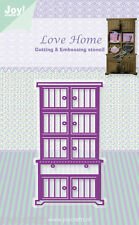 JOY CRAFTS Die Cutting & Embossing Stencil  LOVE HOME CLOSET  6003/0338