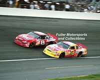 DALE EARNHARDT JR WINS THE 2000 WINSTON VS DALE SR PETER MAX NASCAR PHOTO MAXX