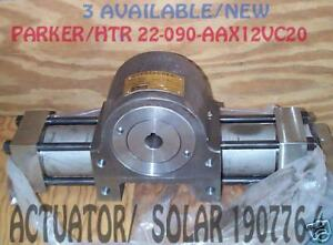 Parker/HTR actuator valve