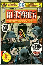 Blitzkrieg 1 DC Nazis Attack Woman & Family Joe Kubert 1976 War Comic Bronze Age