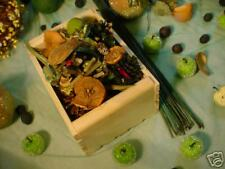 Green Apple potpourri in crate with oil