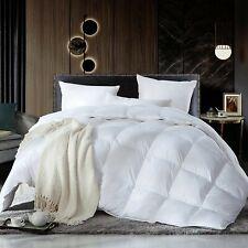 Luxurious King / California King Size, 100% Egyptian Cotton, White Solid