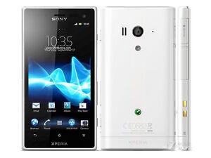 """Original Unlocked Sony Xperia Acro S LT26w 4.3"""" 3G 16GB Wifi NFC 12MP Smartphone"""