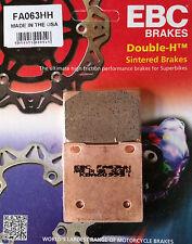EBC/FA063HH Sintered Brake Pads (Rear) - Suzuki GSX1300R X-K7 Hayabusa 99-07