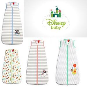 Disney Baby Sleep Bags Mickey Woodland Minnie Pooh Bear Tog 1.0  6-18m 18-36m