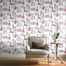 Grandeco Patterned Vinyl Coated Wallpaper Rolls & Sheets