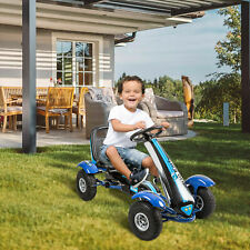 Tollder Go Kart Kids Ride On Pedal Powered Car W/ Brake Outdoor Racer Toy New
