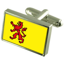 Zuid-Holland Flag Cufflinks With Select Gifts Pouch