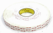 3M VHB Tape 4945 White 1 Inch x 36 Yard 45.0 Mil, 1 Roll