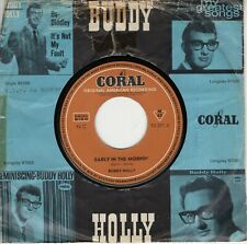 7inch BUDDY HOLLY early in the mornin GERMAN EX-  (S2564)