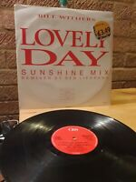 """Bill Withers Lovely Day 12""""Vinyl Sunshine Mix/ Original/ Lean On Me/ Ain't No"""