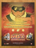 2002 Naruto Collectible Card Game Print Ad/Poster Official Authentic Promo Art