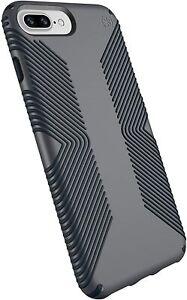 Speck Presidio Grip  Case for iPhone 8 Plus, 7 Plus, 6S Plus, 6 Plus (Grey)