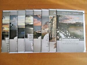 Trauerkarten - Beileidskarten - Kondolenzkarten - NEU - 1540