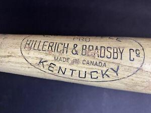 Hillerich Bradsby Canada New York Yankees Bat Day 1969 Mickey Mantle Louisville