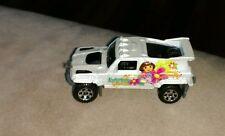 Vintage Matchbox 2006 Mattel Ridge Raider Dora The Explorer White Toy Truck car