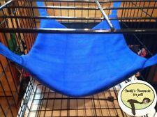 Cosy large hammock ferret,rat,chinchilla,degu. Small Pets . Royal Blue