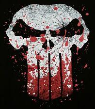 """Enter the War Zone"" Punisher Bloody Skull Men's Medium Shirt Teevillain"