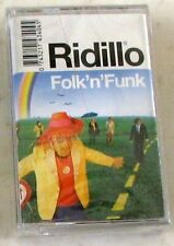 RIDILLO - FOLK'N'FUNK - Musicassetta Sigillata MC K7