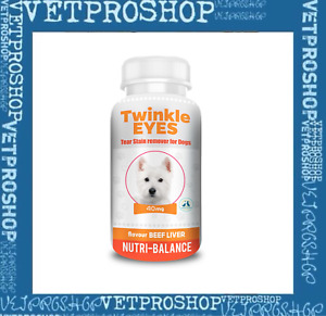 TWINKLE EYES Tear Stain Remover For Dogs - BEEF LIVER FLAVOUR 40g (bottle only)