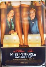 """Miss Pettigrew Lives for a Day- 27""""x40"""" 2 Sided ORIGINAL Movie Poster -Amy Adams"""