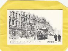 OLD  HULL   TRAM  ROUTE  ' B '  c1902   YORKSHIRE        ( r24  )