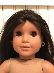 """18"""" Full Size American Girl Josefina Brown Hair Brown Eyes W/Outfit Excellent"""